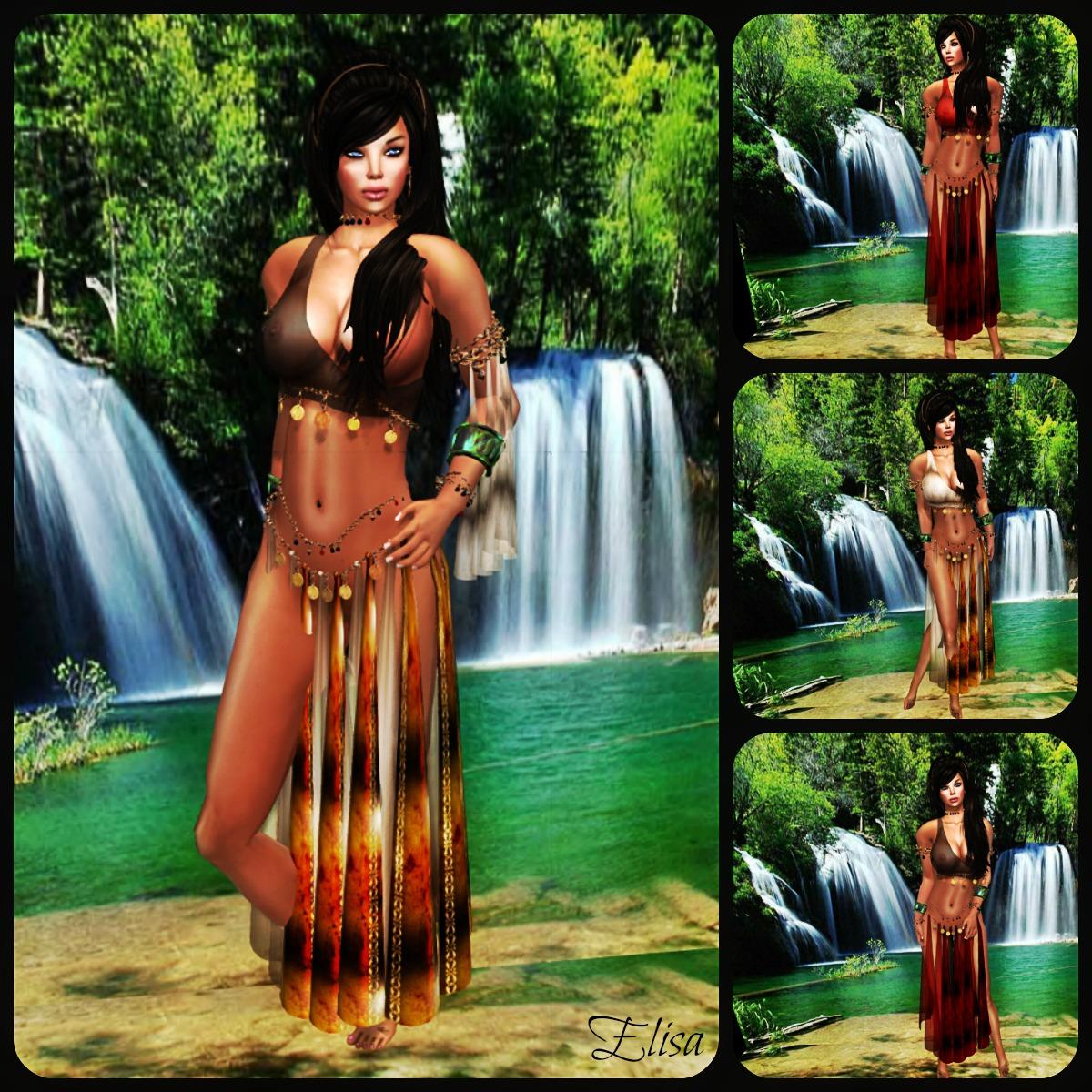 *SLAVE* Esmeralda Silks